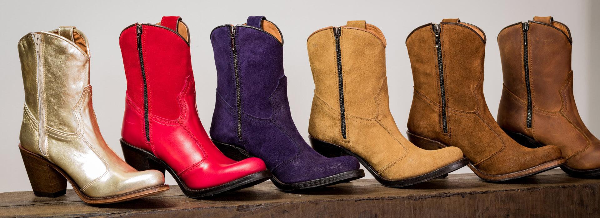 Selección botas texanas de señora