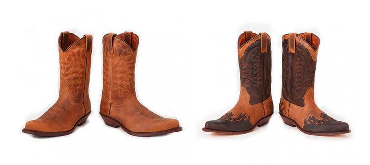 La fabricación de la bota texana