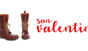 Regala botas en San Valentín