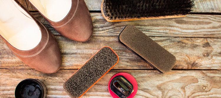 El cuidado de las botas de serraje, ante o nobuk